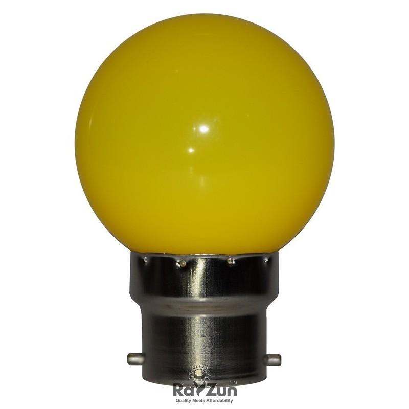Rayzun 05 Watt Led Night Lamp Bulb Yellow Jpg